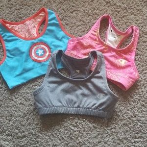 Bundle of Girls Sports Bras